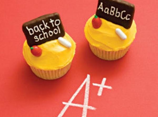 Back To School Cupcakes Recipe