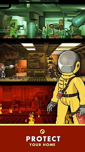 Fallout Shelter Apk + Mod (Caps/Food/Water/Energy) + Data Android 4