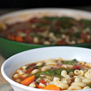 Hearty Minestrone Soup ~vegan, Gluten Free~