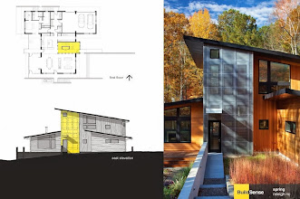 Photo: The 2011 Hodge-Nasir House, aka Spring, Raleigh NC, designed and built by Erik Mehlman AIA of BuildSense. Landscape: Tributary Land Design + Build