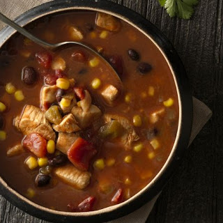 Slow-Cooker Chicken Taco Soup.