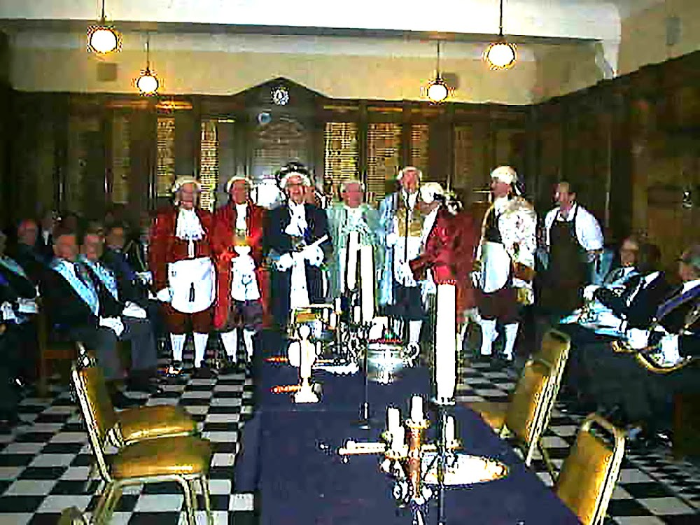1765 Installation Ceremony Re-enactment