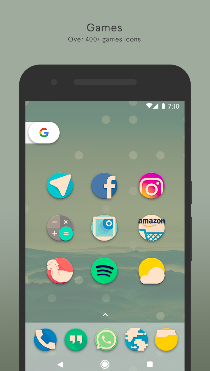 Pix it Vintage - Icon Pack Screenshot 1