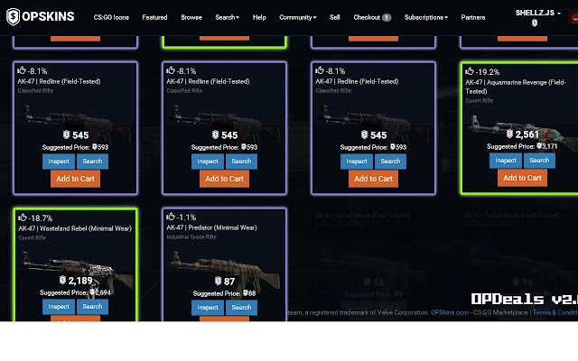 opdeals find the best deals on opskins com chrome web store