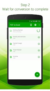 PDF to Excel – PDF File Converter with OCR 3