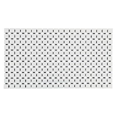 Коврик для ванной комнаты Ridder Nevis белый 68х39 см
