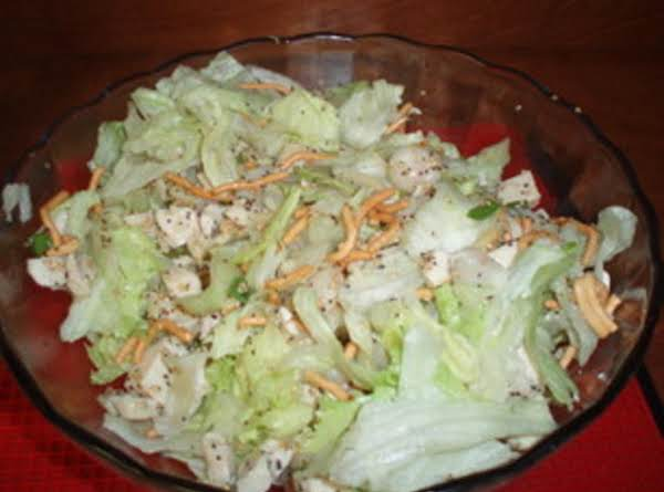Chicken Salad Asian Style Recipe