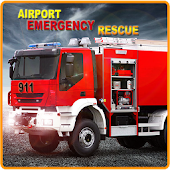 Airplane Fire Rescue 3D