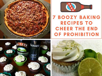 7 Boozy Baking Recipes to Cheer the End of Prohibition