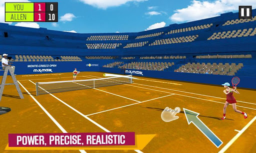 Virtual Tennis Challenge - Pocket Tennis Game  captures d'u00e9cran 2