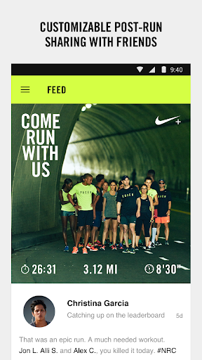 Nike+ Run Club screenshot 3