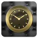 Gold Clock Widget icon
