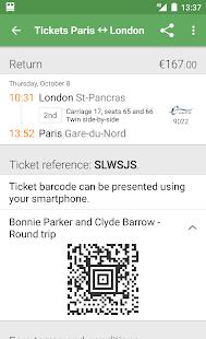 Capitaine Train: train tickets- screenshot thumbnail