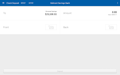 Belmont Savings Bank- screenshot thumbnail