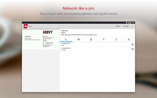 Business Card Reader Pro - Business Card Scanner  screenshots 9