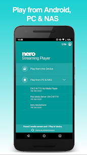 Nero Streaming Player | Connect phone to Smart TV 1.4.2 Mod + Data for Android 2