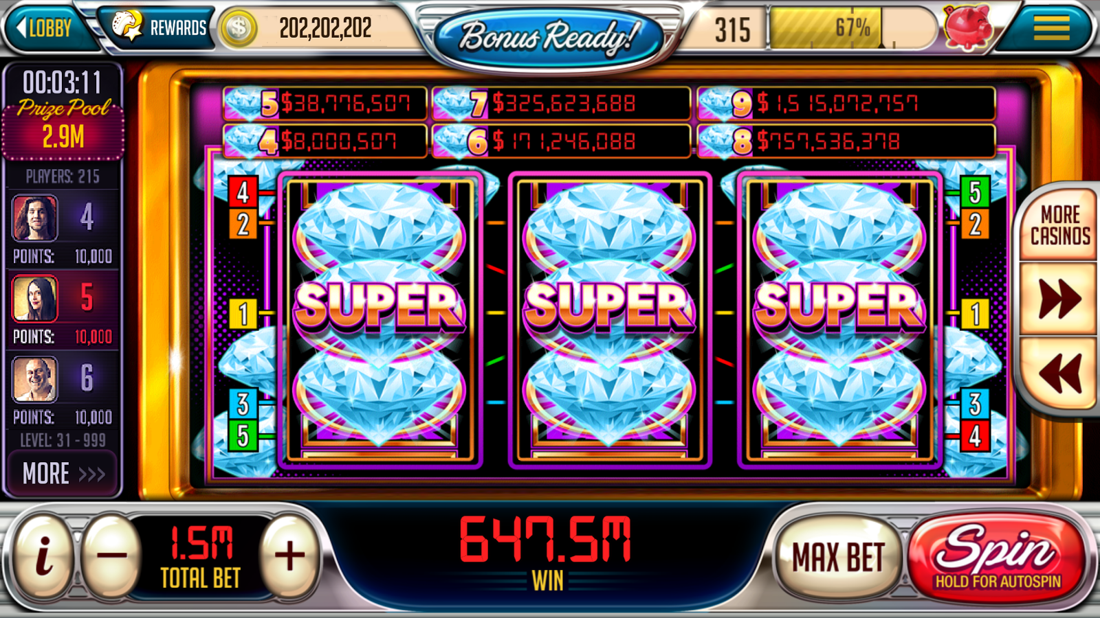 casino play online free spin game
