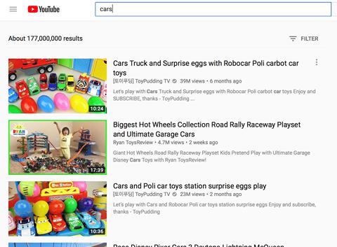 Vi sao khong nen cho tre xem YouTube - hinh 2