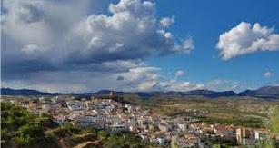 Vista general del pueblo de Serón.