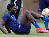 Le jeune belge Amadou Onana travaille dur à Hambourg