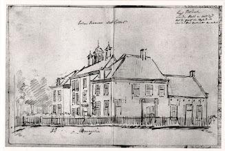 Photo: 1777 Huize of kasteel Bosdal aan de noord-oostzijde-