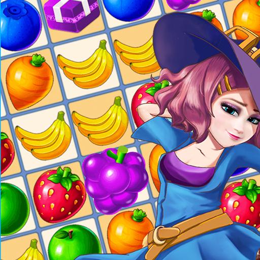 Fruits Match 3 - Free Match & Crush Puzzle