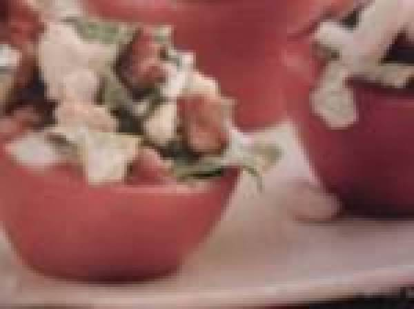 Blt Tomato Cups Recipe