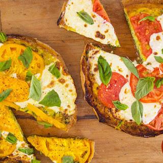 Zucchini Frittata Pizza Margherita