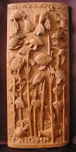 Photo: Tamaño: 50 x 22 cm. || Talla en madera. Woodcarving.   Puedes conocer más de este artista en el blog: http://tallaenmadera-woodcarving-esculturas.blogspot.com/