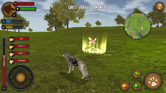 Wolves of the Forest screenshot 3