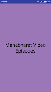 Mahabharat Video Episodes - náhled