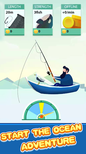 Lucky Fishing - Best Fishing Game To Reward!  captures d'écran 1
