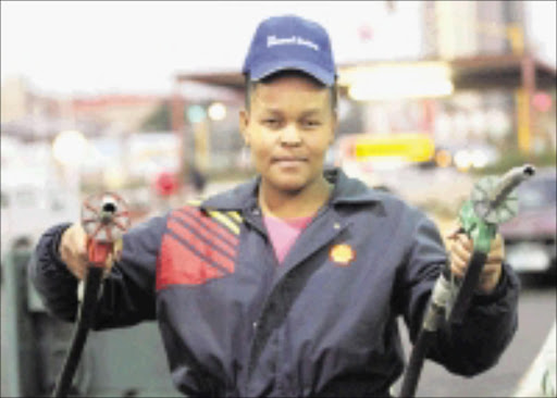 SHOCK RISE: Motorists will be paying more for petrol from tomorrow. Pic. Veli Nhlapo. 30/07/08. © Sowetan.
