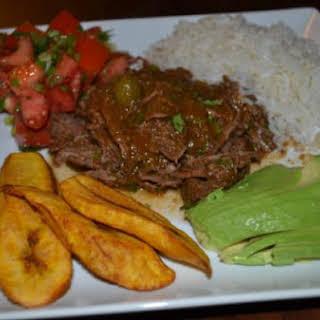 Crockpot Cuban Ropa Vieja (Shredded Beef).