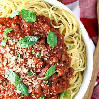 Best Slow Cooker Spaghetti Sauce.