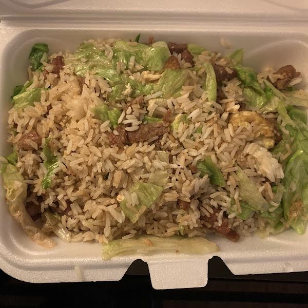 GF Beef fried rice