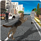 Dog Chase Games 3D : A Police and Crime Simulator