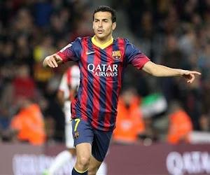 Le FC Barcelone séduit grâce à un excellent Pedro