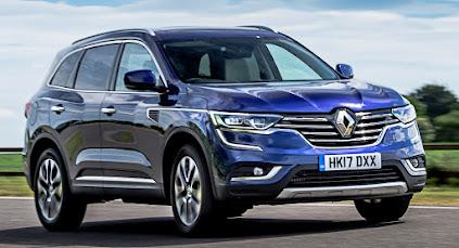 Renault unveils new Koleos