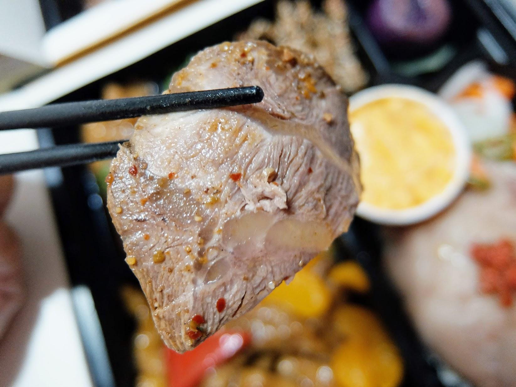 牛腱肉很厚片,也是好吃啊!