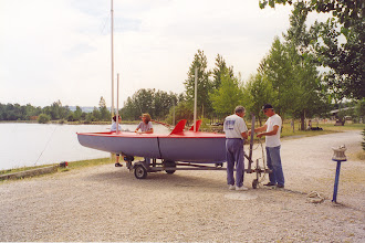Photo: Baptême du bateau comité