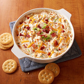 Warm & Cheesy Bacon Dip