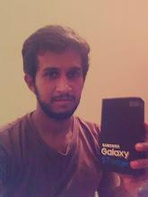 Photo: Giveaway winner Ishan F. from Sri Lanka showing off his new Samsung Galaxy S7 Edge.