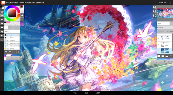 LayerPaint HD v1.9.40 [Paid] 3