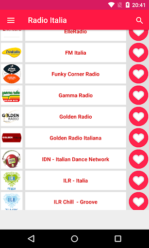 radio Italy screenshot
