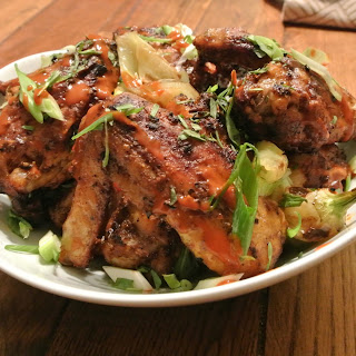 Grilled Chicken Wings Doused with Valentina (Minero Style)