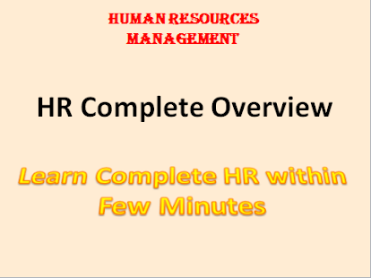 Learn Complete Human Resources - náhled
