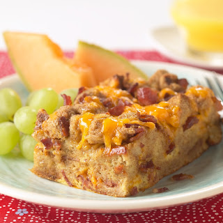 Overnight Bacon Casserole Recipe