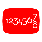 YT Count Widget Android APK Download Free By Vignesh KM