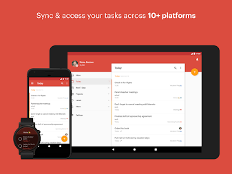 Todoist: To-Do List, Tasks & Reminders APK screenshot thumbnail 3